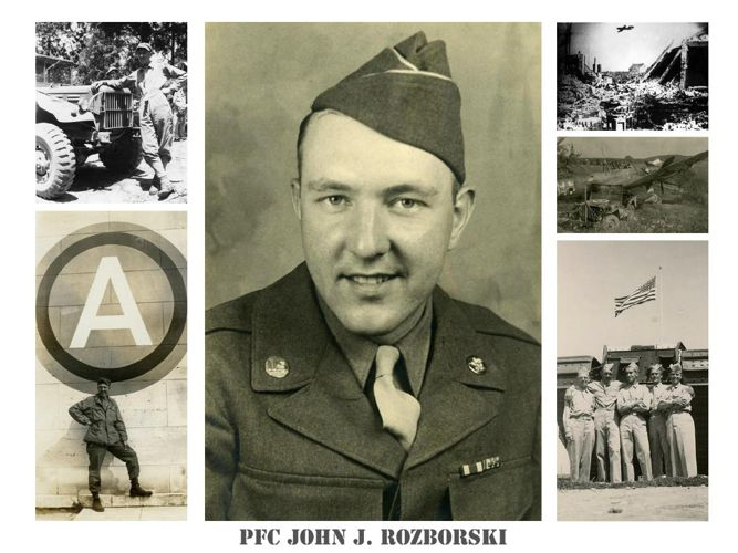 Copy of PFC John Rozborski's WWII images