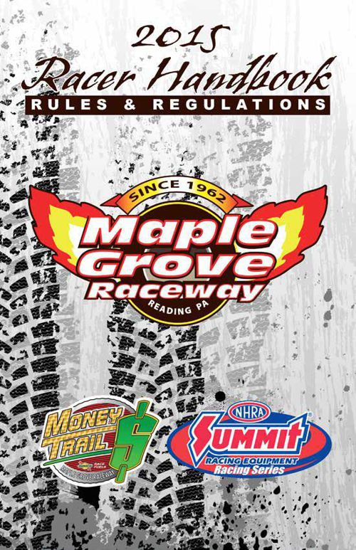 2015 Racer Handbook Rules and Regulations Revised