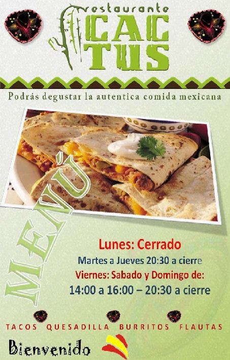 Restaurante Mexicano CACTUS