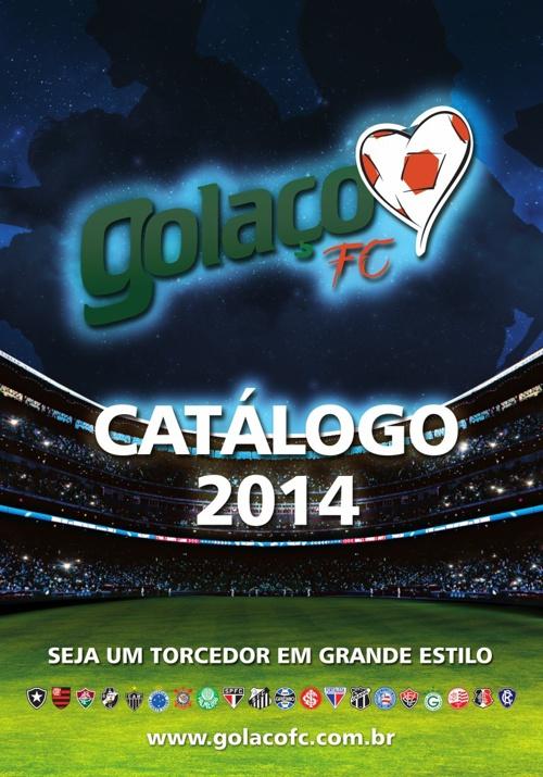 CATALOGO GOLAÇO FC 2014