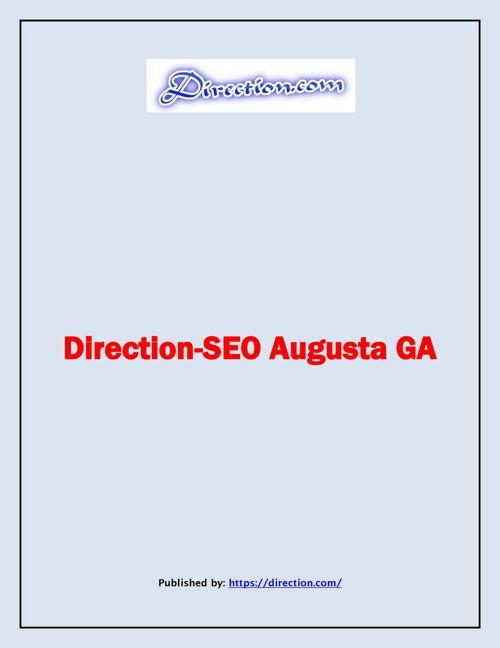 Direction-SEO Augusta GA