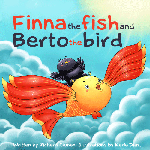 Finna the fish and Berto the bird
