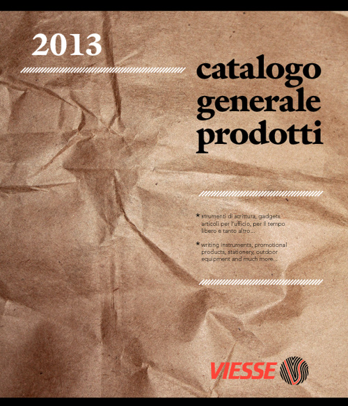 Viesse catalogue - writing