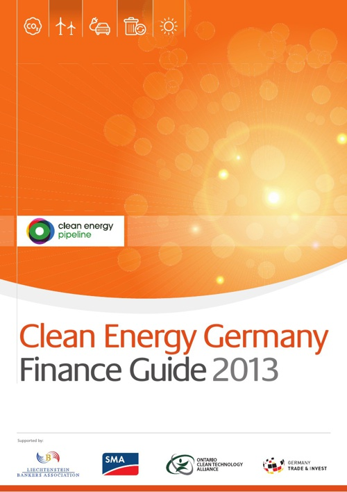 Clean Energy Germany Finance Guide 2013