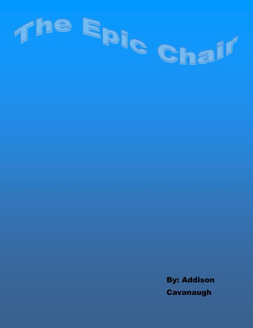 Addison Cavanaugh Epic chair