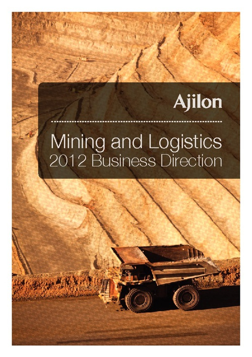 Mining and Logistics - 2012 Business Direction