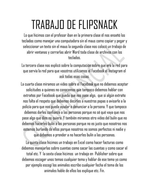 FLIPSNACK.