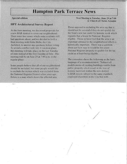 HPT Newsletter June-2 2004