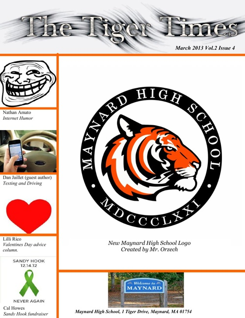 Tiger Times - February/March Edition