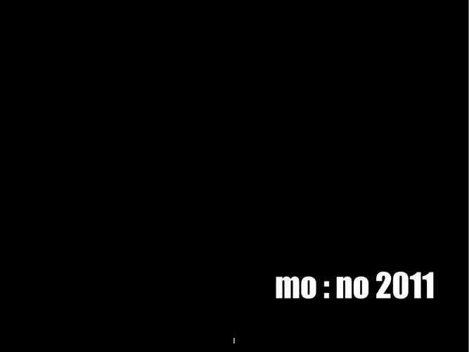 My world in MONO: 2011