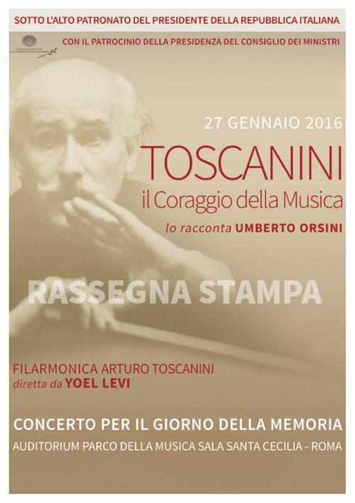 Press- Toscanini il Coraggio della Musica