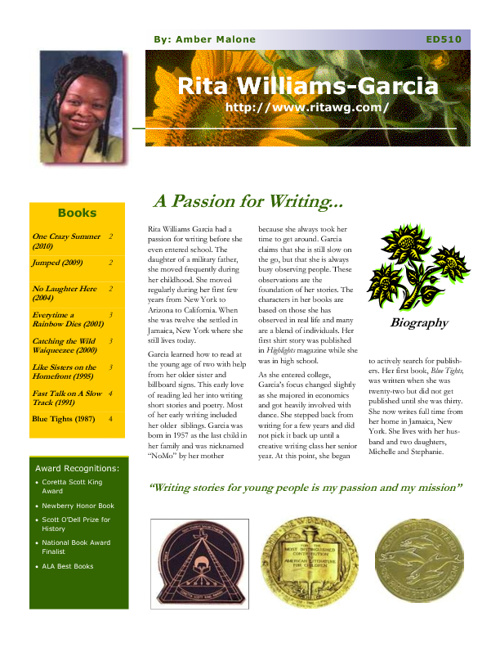 Rita Williams-Garcia