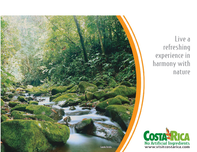 COSTA RICA...Live a refreshing experience in harmony with nature