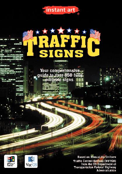 instant art© Traffic Signs USA CD-ROM catalog