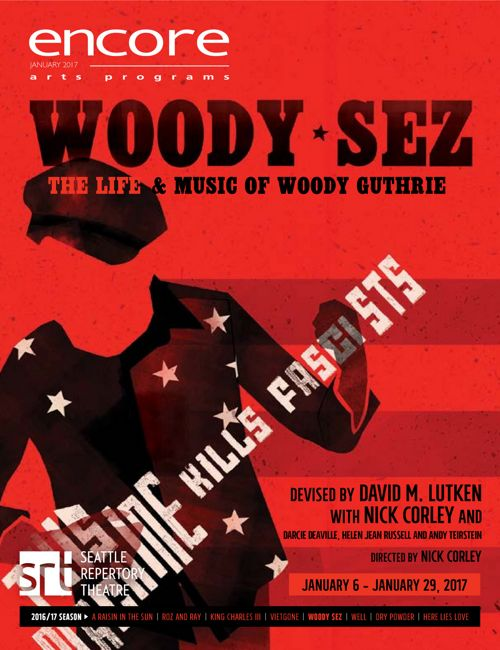 Woody Sez Show Program