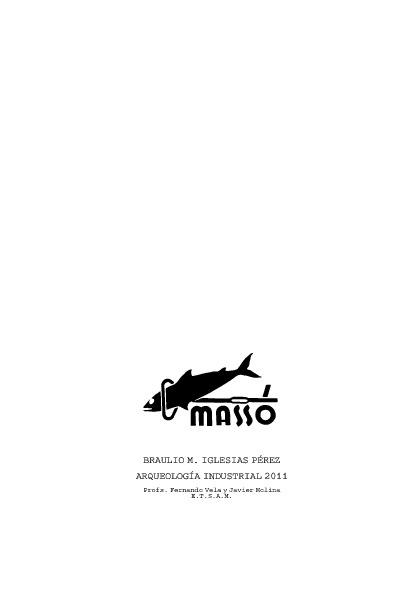 Arqueología Industrial - Factoría Massó