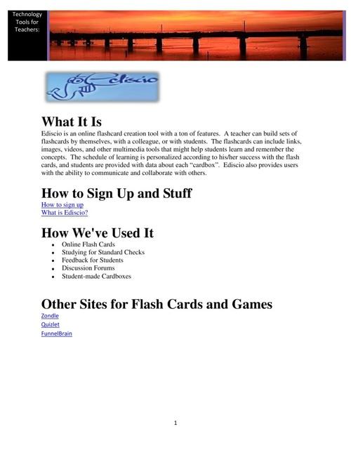 Tech Tools Book