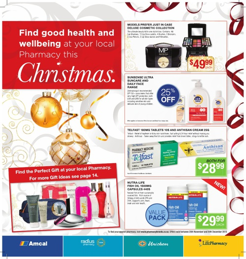 Pharmacybrands Catalogue December 2013