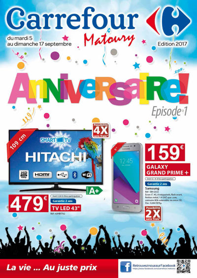 Catalogue Anniversaire 1