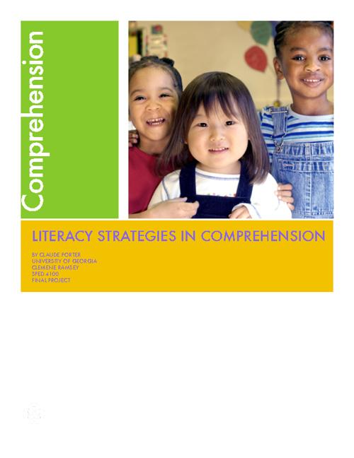 Claude Porter Comprehension Strategies