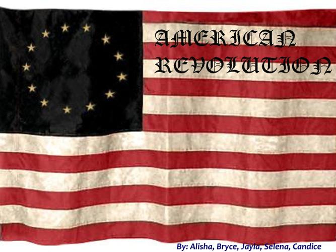 American Revolution (hwh3)