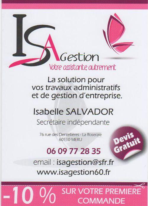 Plaquette de présentation ISA GESTION