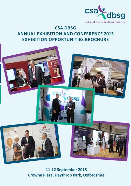 CSA DBSG Exhibition Brochure 2013