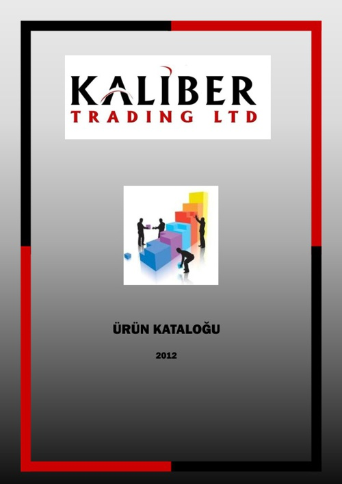 Kaliber Trading Eczane Katalogu 2012