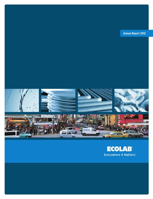 Ecolab 2012 Annual Report