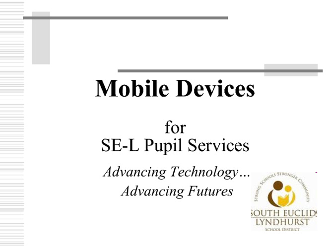 Mobile Devices Presentation