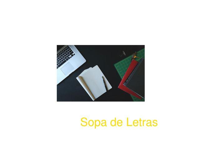 Catalogo Sopa de letras