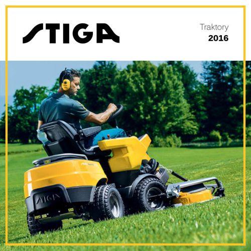 Stiga katalog traktory 2016