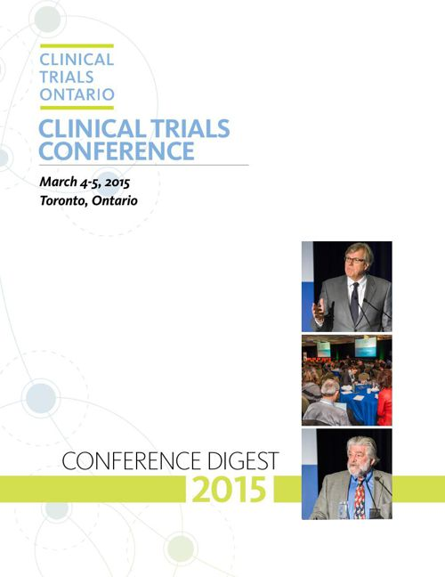 CTO 2015 Clinical Trials Conference Digest