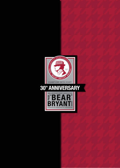 Bear Bryant Invitation