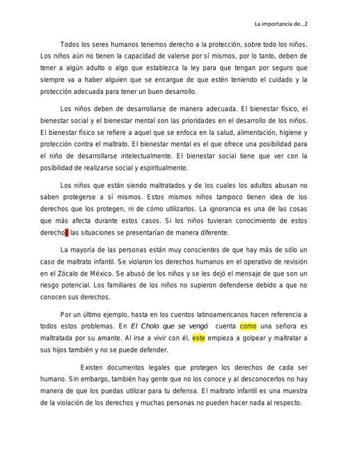 María Fernanda Ortega 2ºD Texto Argumentativo