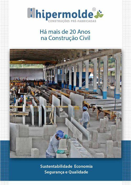 Hipermolde Construções Pré-Fabricadas   Folder Digital   Empresa