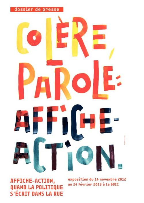 Affiche Action Dossier de presse