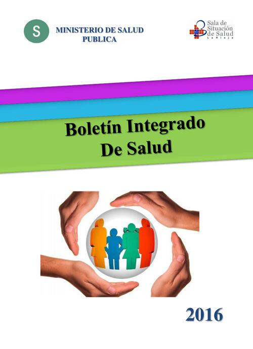 BOLETIN INTEGRADO DE LA INFORMACION DE SALUD - AÑO 2016_