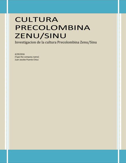 Cultura Precolombina  Sinu 22345