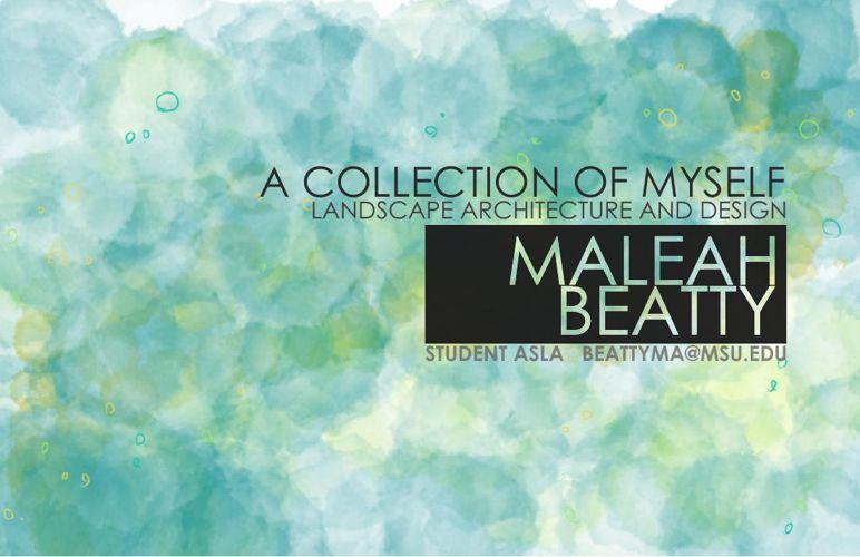 Maleah Beatty Portfolio 2015