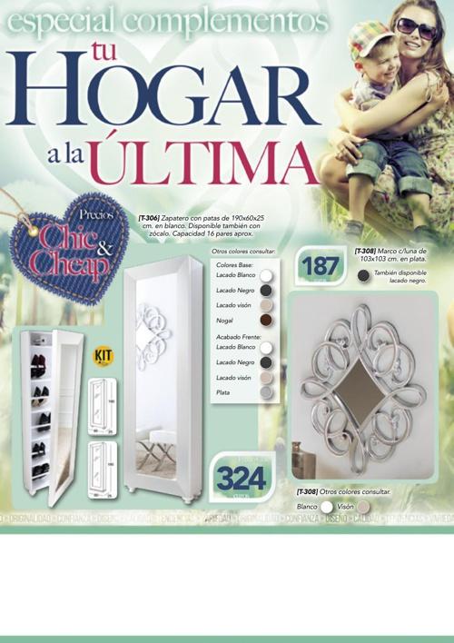 Catálogos Muebles Huertas
