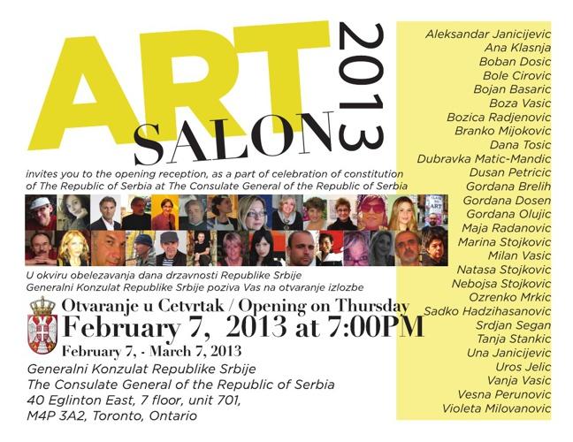 ArtSalon13 February 2013