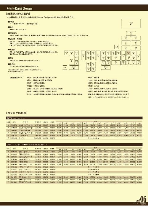 vol.06価格表
