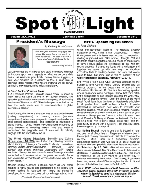 NFRC_Spotlight_Winter 2010