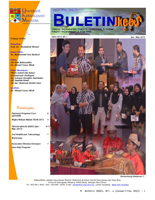 Buletin Jan - Mac 2015