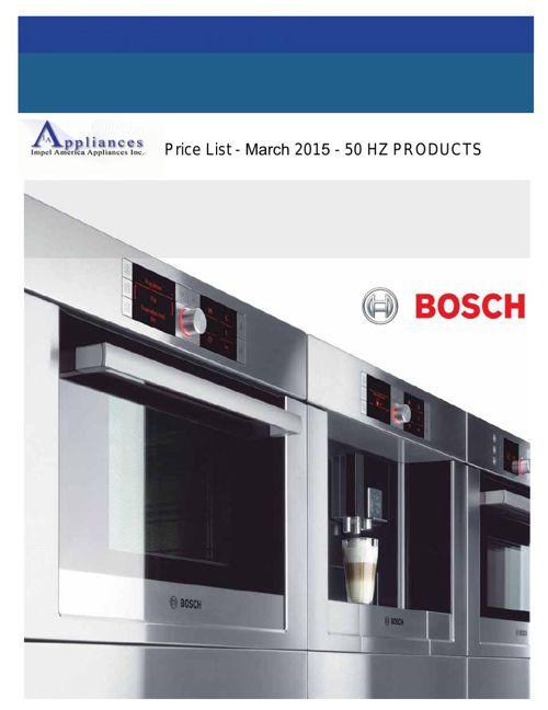 Impel America Appliances 50Hz