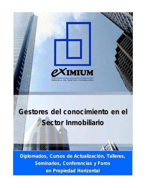 CATALOGO PROGRAMAS EXIMIUM 2015