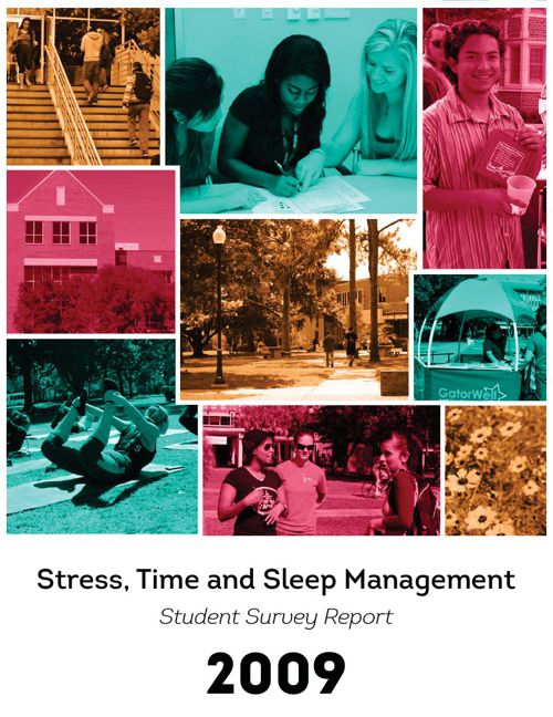 Stress, Time and Sleep Management Report 2009