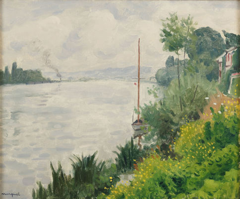 Bords de Seine à Triel, 1931.