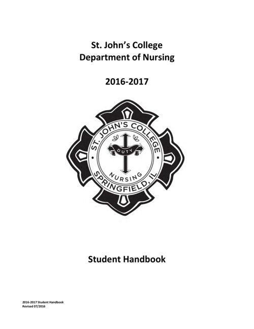 2016-2017-Student-Handbook